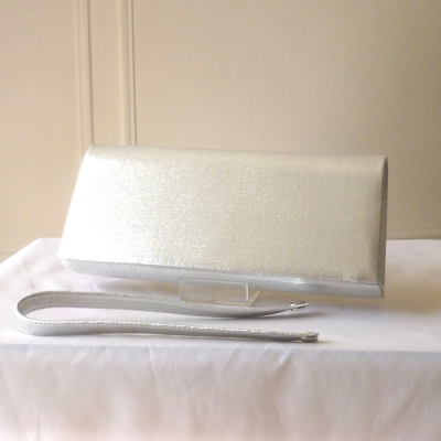 Classical wedding clutch : a choice of about 28 colours