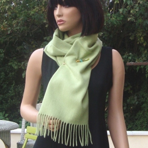 Cashmere and woolen scarf - 14 colours