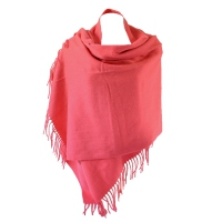 Cashmere and wool shawl : 6 pretty colours!