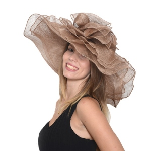 Wide-brimmed hat for you : 52 colours