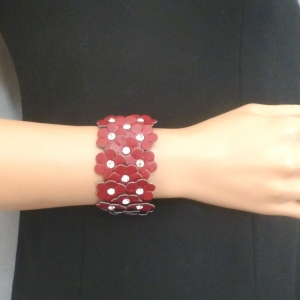 Bracelet imitation leather