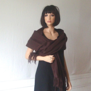 Chocolate shawl