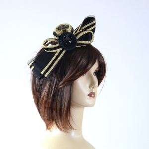 Headband gold and black