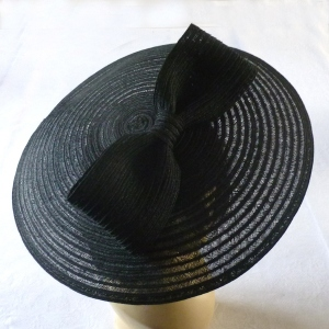 "Large wedding hat - Marie Mercié creations - ""Octavia"""