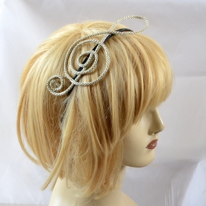 Headband G-clef Ophelie hats creation