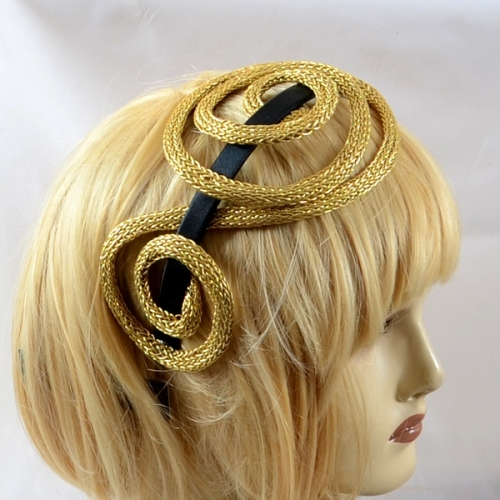 "Headband Ophelie creations model ""wire"""