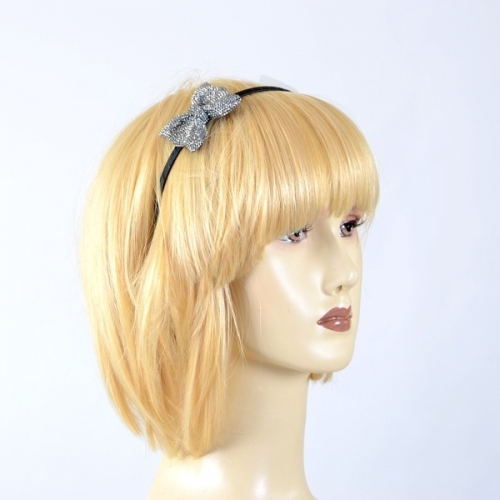 "Headband ""Karin"" butterfly crystal big"