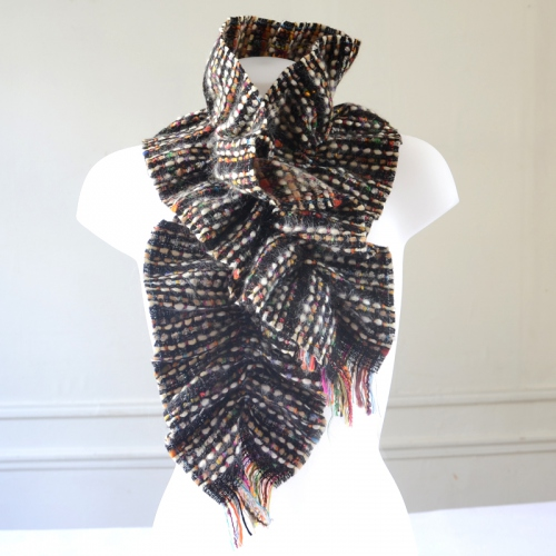 French made multicolour magical scarf