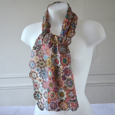 """Sophie Digard's shawl """"Edelweiss"""""""