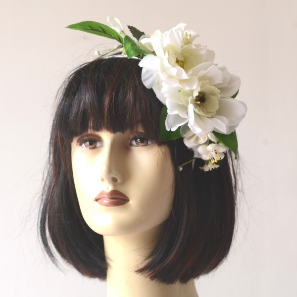 For the bride, easy to wear headband, remains in its place on your head