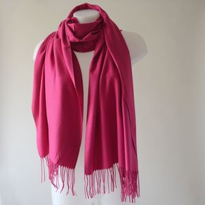 17 colours! Cashmere, viscose and wool shawl for weddings, evenings or everyday life