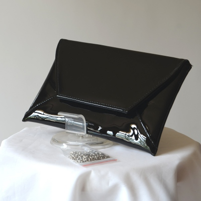 Evening, wedding envenope shaped clutch - 2 colours - black out of stock