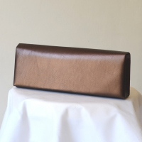 Golden brown evening bag
