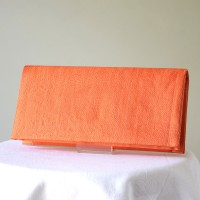 Orange wedding, evening bag  - sinamay