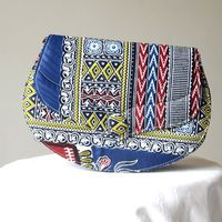 Handbag/clutch - african wax, ankara