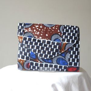 Ethnic and graphic handbag/clutch - African wax