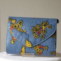 Clutch handbag - african wax