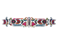 "Superbe bracelet Ayala Bar - fuchsia, bleu collection ""Rowan"""