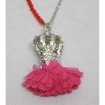 Women's Necklace crown with pompon
