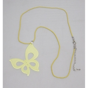 Women's colors butterfly Necklace