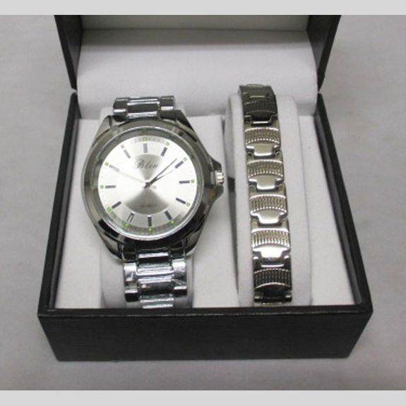 Box For Men watch and bracelet