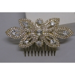 rhinestone wedding hair comb
