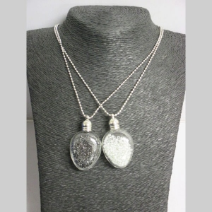 glass jewelry with small ball