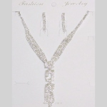 Woman's jewelry set  rhinestone