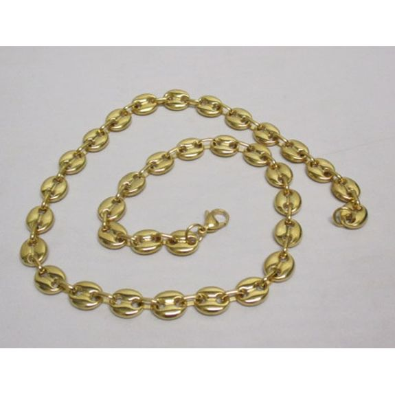 coffee bean golden chain Steel