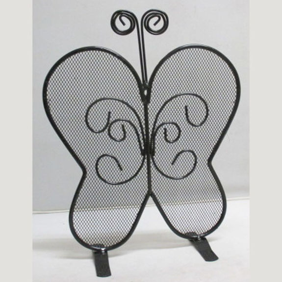 Display butterfly-shaped earring