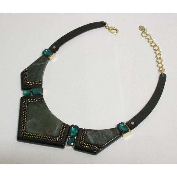 necklace of resin jewelry