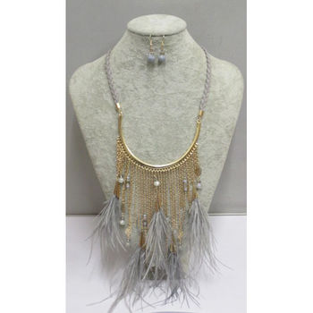 feather necklace category