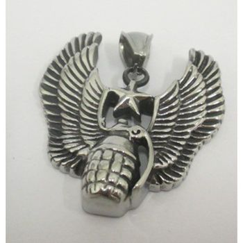 winged pomegranate pendant