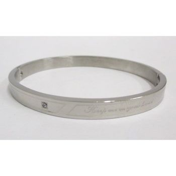 steel bracelet message