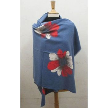 wool and viscose scarf