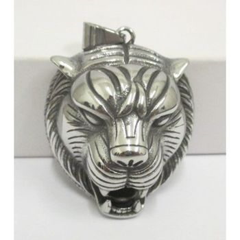 ger pendant showing his fang