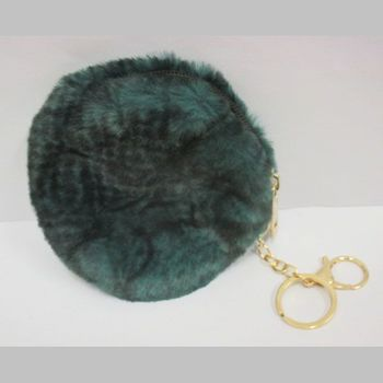 round zipped coin purse