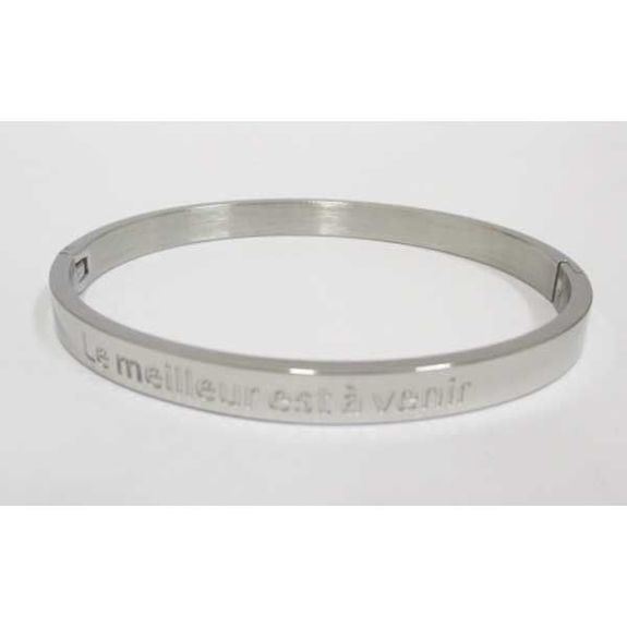 Message bracelet The best is yet to come