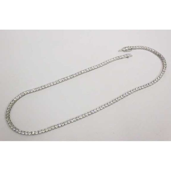 collier riviere diamant hip hop