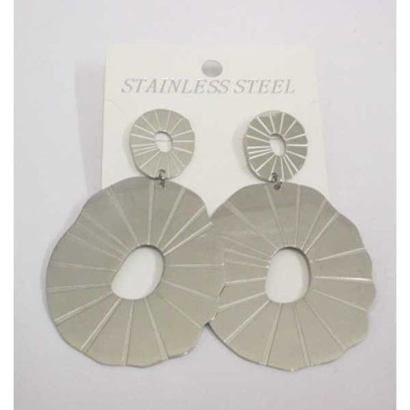 round ear loop steel stripe