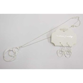 white enamel ceremony jewelry