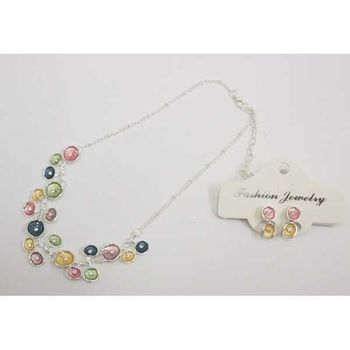 multicolored small pebble email jewelry