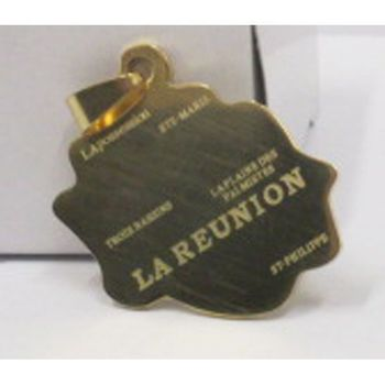 pendant Reunion steel