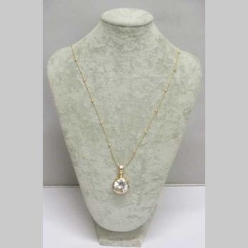 gold crystal gourd pendant jewelry