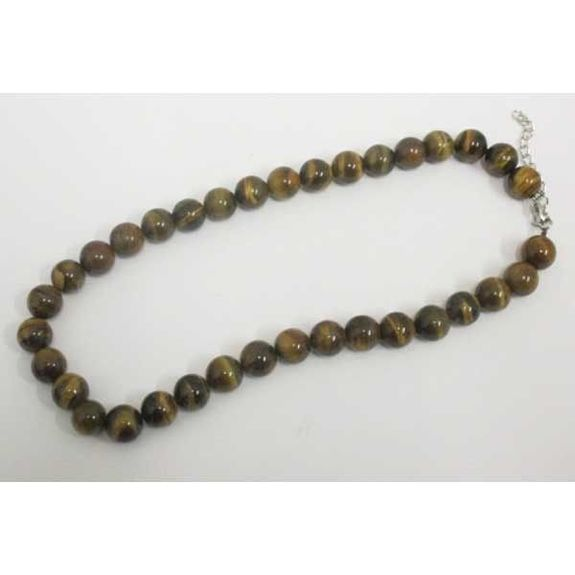 protective stone tiger eye necklace