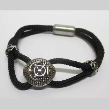 steel magnet anchor bracelet