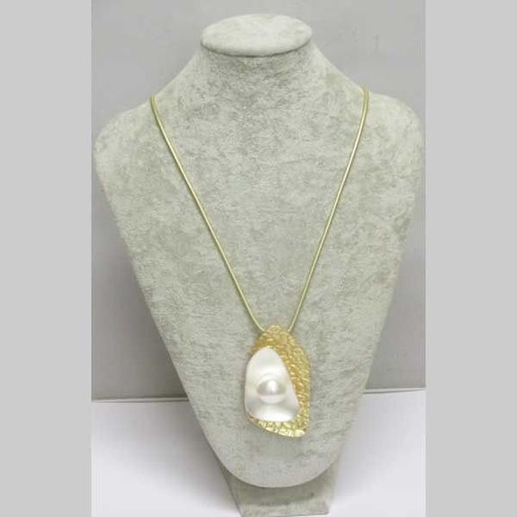 jewelry oyster necklace with pearl