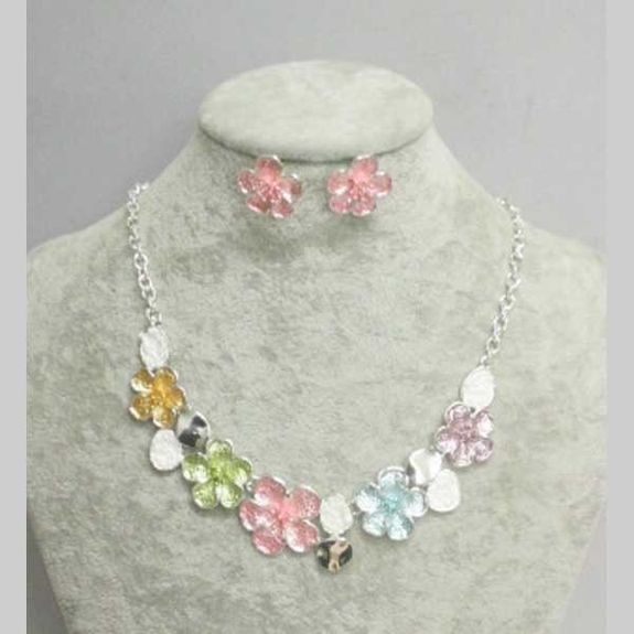 flower email adornment jewelry