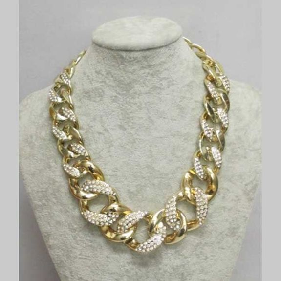 crystal mesh necklace jewelry