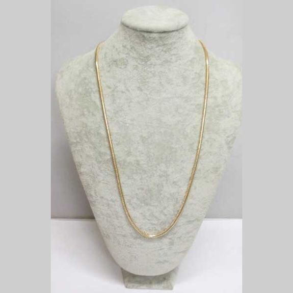 gold snake chain necklace jewelry